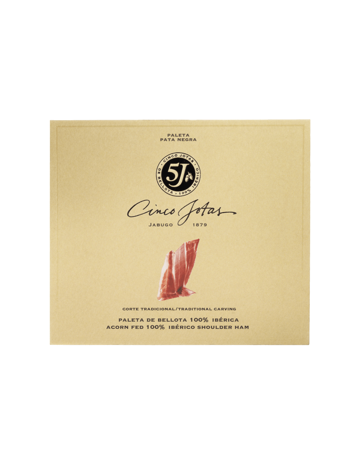 Cinco Jotas Hand-carved Acorn-fed 100% Ibérico Shoulder Ham 40 g