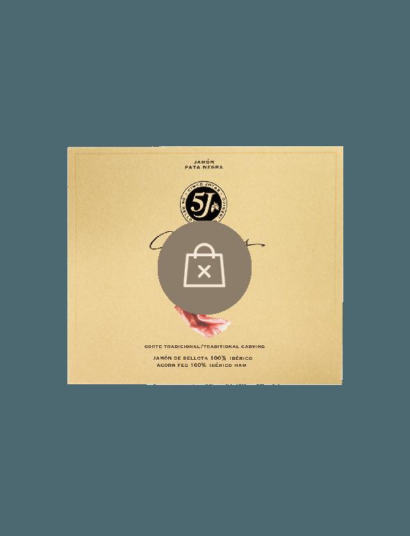 Sliced Cinco Jotas Acorn-fed 100% Ibérico Ham, 40g