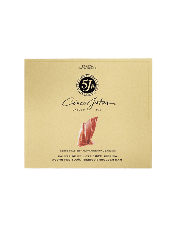 Sliced Cinco Jotas Acorn-fed 100% Ibérico Shoulder Ham, 40 g