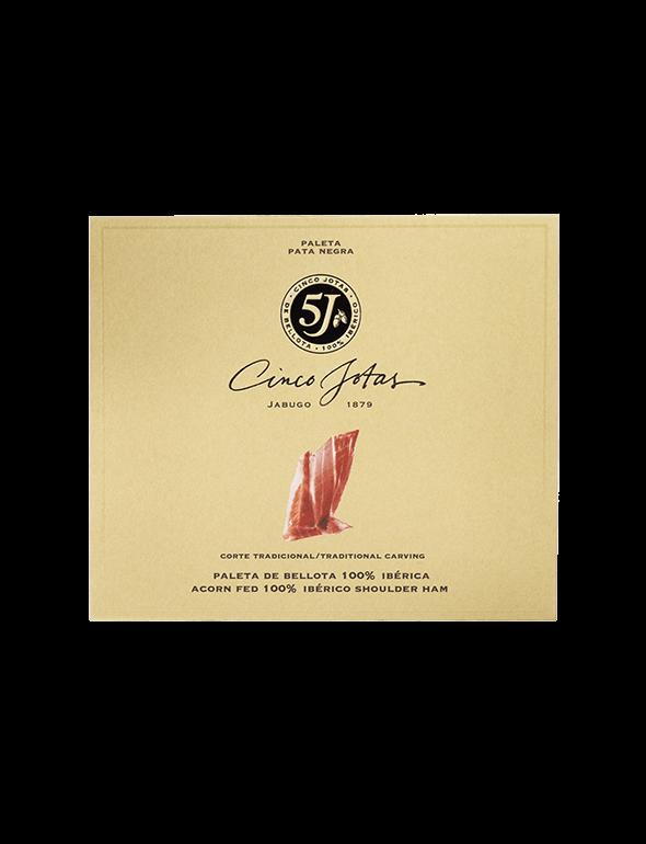 Cinco Jotas Hand-carved Acorn-fed 100% Ibérico Shoulder Ham 40 g